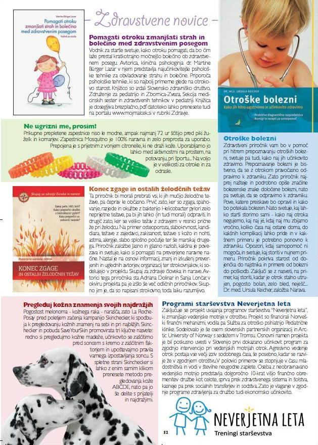 Zdravstvene novice 52